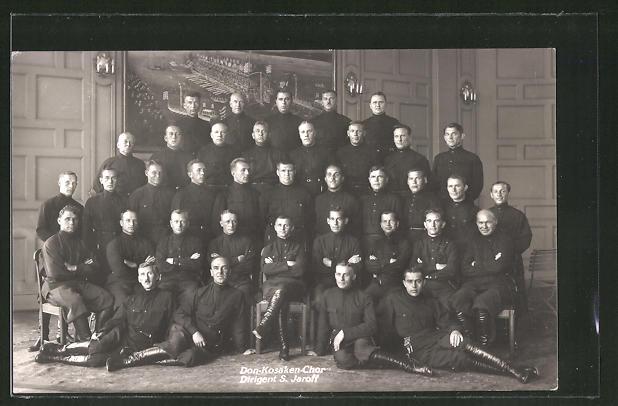 AK Don-Kosaken-Chor, Dirigent S. Jaroff