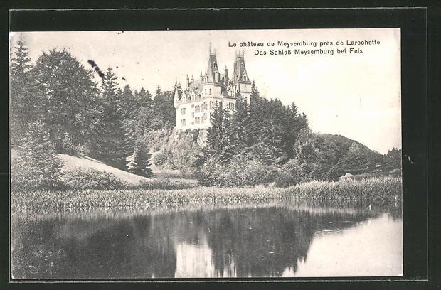 AK Larochette / Fels, Schlos Meysemburg, Le château de Maysemburg