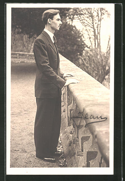 AK Grossherzog Jean von Luxemburg im Anzug