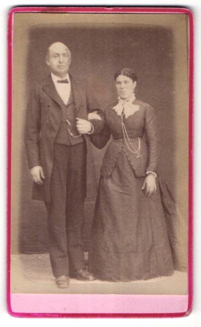 Fotografie Jacquet, Paris, Portrait gutbürgerliches Paar