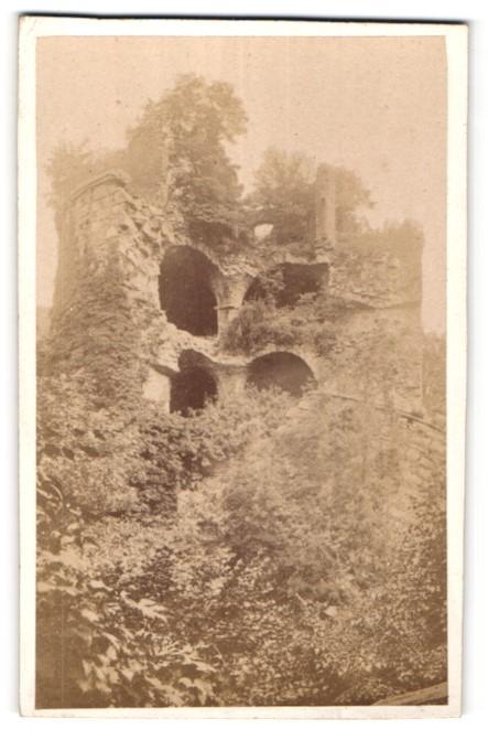 Fotografie Eder, Heidelberg, Ansicht Heidelberg, Ruine Krautturm