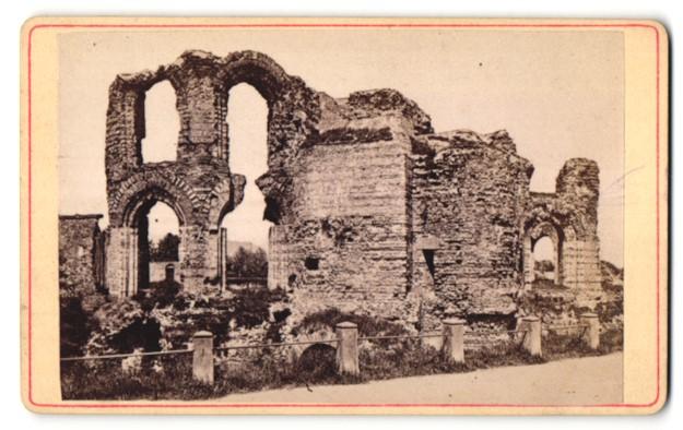 Fotografie unbekannter Fotograf, Ansicht Trier, Römische Bäder