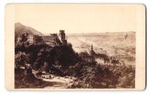 Fotografie Franz Richard, Heidelberg, Ansicht Heidelberg, Panorama