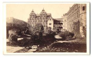 Fotografie L. Meder, Heidelberg, Ansicht Heidelberg, Ortspartie