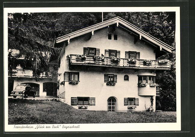 ak bayrischzell hotel gl ck am bach nr 5400117 oldthing ansichtskarten deutschland plz 80. Black Bedroom Furniture Sets. Home Design Ideas