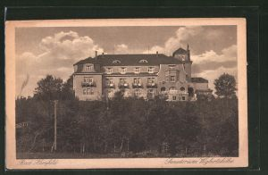 AK Bad Hersfeld, Hotel-Sanatorium Wigbertshöhe