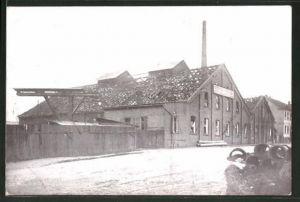 AK Annen, Explosion der Roburitfabrik, schwer beschädigte Lindner'sche Fabrik