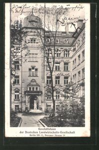 AK Berlin-Kreuzberg, Geschäftshaus d. Deutschen Landwirtschafts-Gesellschaft i. d. Dessaner Strasse 14