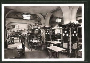 AK Berlin-Charlottenburg, Restaurant Ziegeuner Keller i. d. Strasse Kurfürstendamm 26