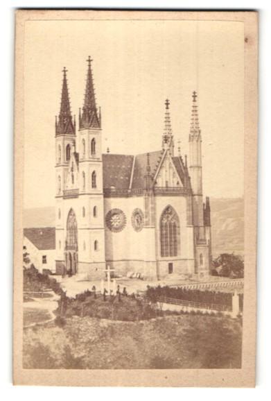 Fotografie unbekannter Fotograf, Ansicht Remagen, Apollinariskirche