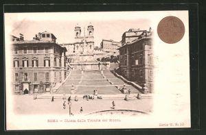 AK Roma, Chiesa dell Trijnitá dei Monti, Kreuz
