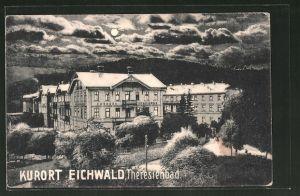 AK Eichwald, Theresienbad bei Vollmond