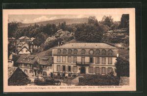 AK Hohwald, Blick auf das Hotel Stauffer