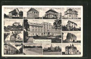 AK Konstantinsbad, Villa