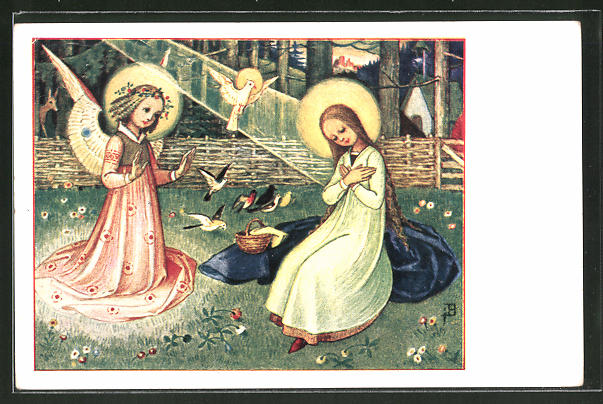 Künstler-AK Josef Bachlechner: Ave Maria