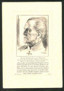 AK Graf Helmuth von Moltke, Reichseinigungskriege
