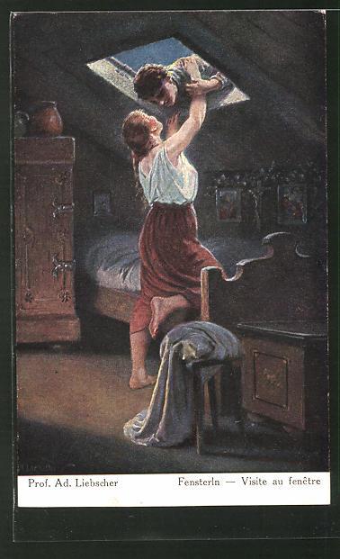 Künstler-AK Adolf Liebscher: