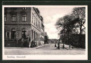 AK Rendsburg, Partie in der Herrenstrasse