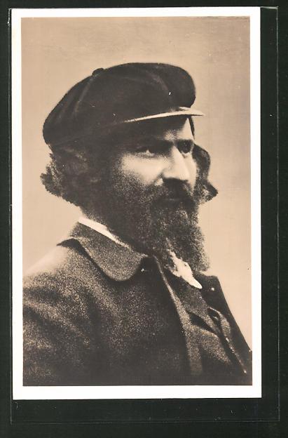 Künstler-AK Giovanni Segantini: Giovanni Segantini, Maler des realistischen Symbolismus