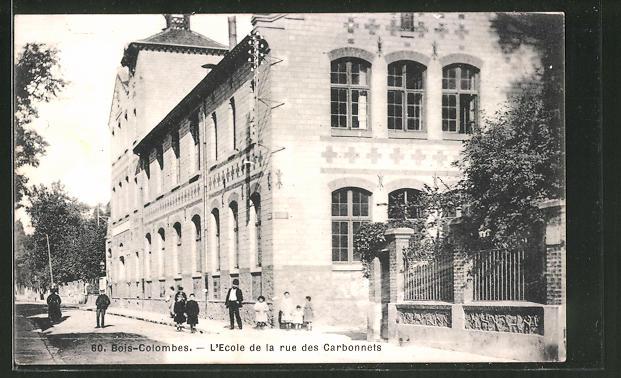 AK Bois-Colombes, L'Ecole de la rue des Carbonnets