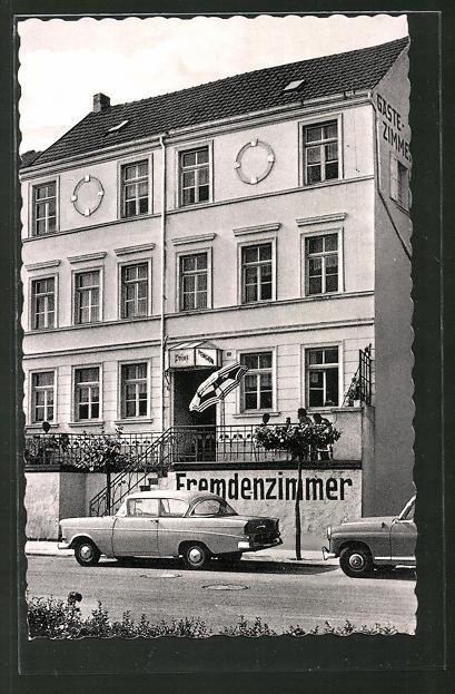 AK Remagen, Pension Prinz i. d. Strasse Rheinpromenade 21