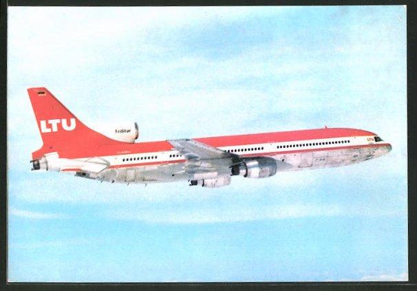 AK Flugzeug Lockheed L-1011 TriStar über den Wolken