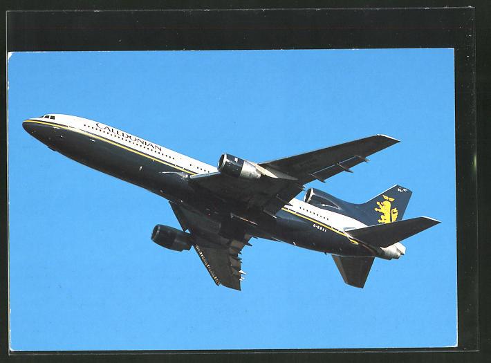 AK Flugzeug Caledonian Airways: Lockheed L-1011-100 Tristar in der Luft