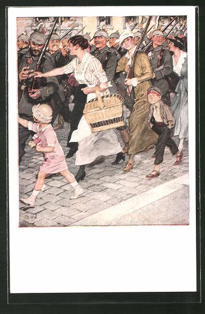 Künstler-AK Brynolf Wennerberg: