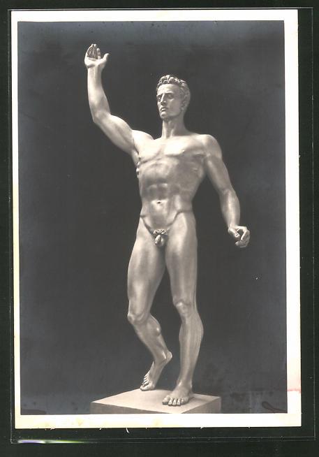 Künstler-AK Arno Breker: Skulptur