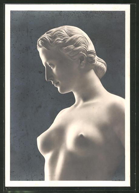 Künstler-AK Arno Breker: Ausschnitt der Skulptur