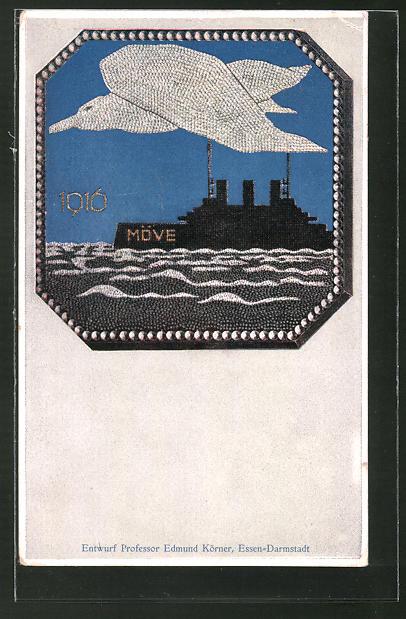 AK Kriegshilfe, Kriegsschiff