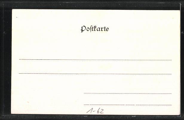 AK Fritz Reuter-Porträt, Darsteller des Unkel Bräsig 1