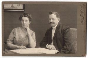 Fotografie Atelier Ideal, Bremerhaven, Portrait bürgerliche Eheleute
