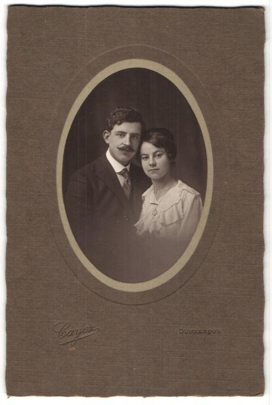 Fotografie Cayez, Dunkerque, Portrait junges bürgerliches Paar