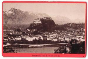 Fotografie Würthle & Spinnhirn, Salzburg, Ansicht Salzburg, Blick vom Kapuzinerberg