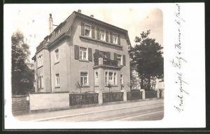 Foto-AK Dresden-Blasewitz, Villa Dorothea, Schaufussstrasse 17 (jetzt 18)