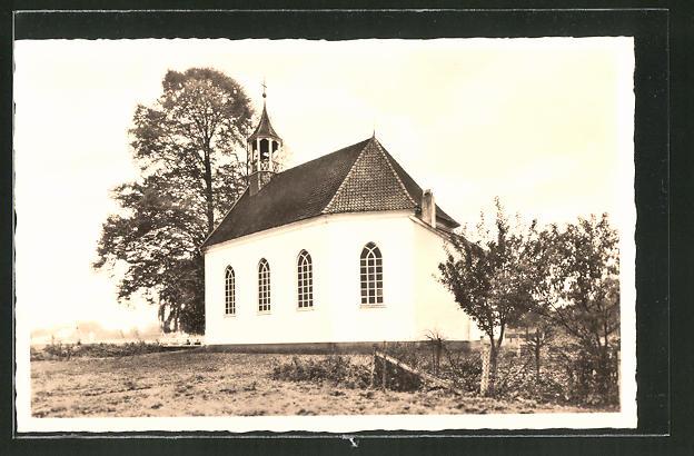 AK Oeding in Westfalen, evangelische Kirche