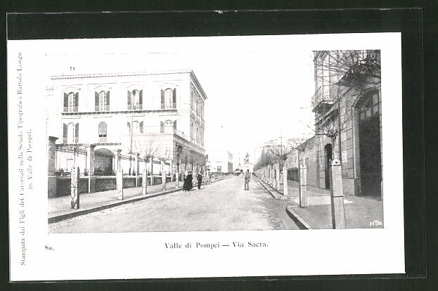 AK Valle di Pompei, Via Sacra