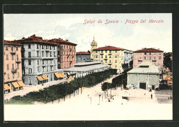 AK La Spezia, Piazza del Mercato