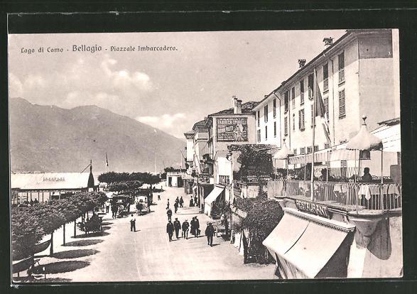AK Bellagio, Piazzale Imbarcadero, Lago di Como