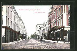 AK Little Rock, AR, Markham Street west from Main