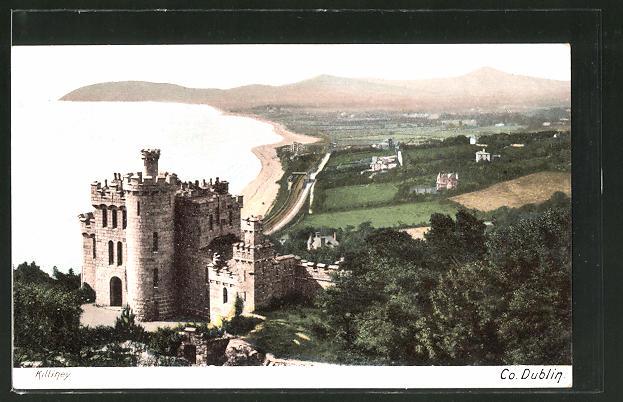 AK Dublin, Blick auf Killiney