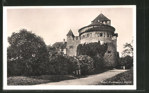 AK Vaduz, Partie am Schloss