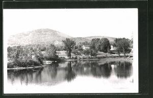 AK East Washington, NH, Ortspartie am Fluss