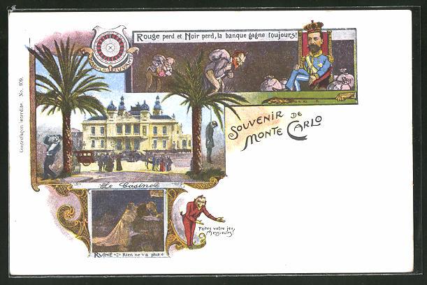 AK Monte Carlo, Le Casino, Ruine
