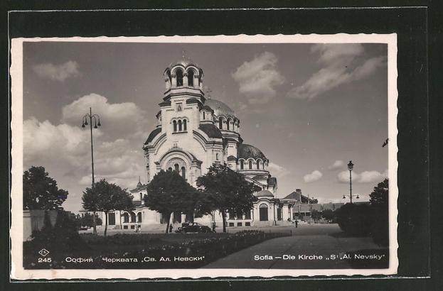 AK Sofia, Kirche St. Al Nevsky
