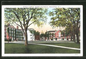 AK Providence, RI, View of Brown University