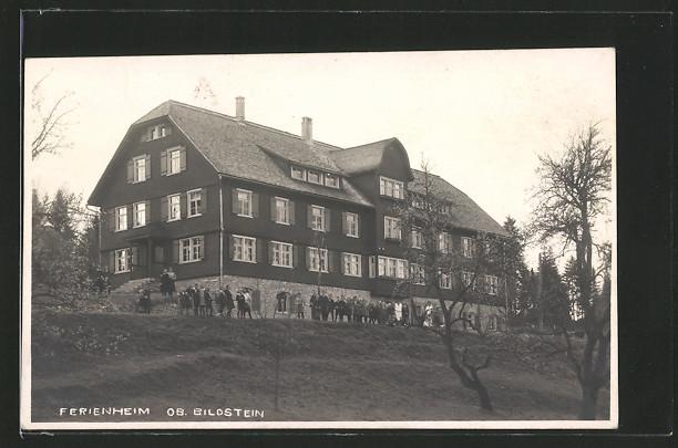 AK Bildstein, Hotel Ferienheim Ob. Bildstein