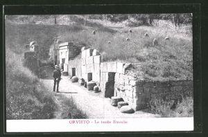 AK Orvieto, Le tombe Etrusche