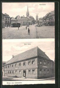 AK Lichtenfels, Hotel Anker, Marktplatz